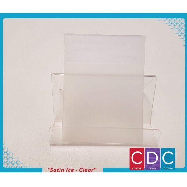 satin Ice Clear