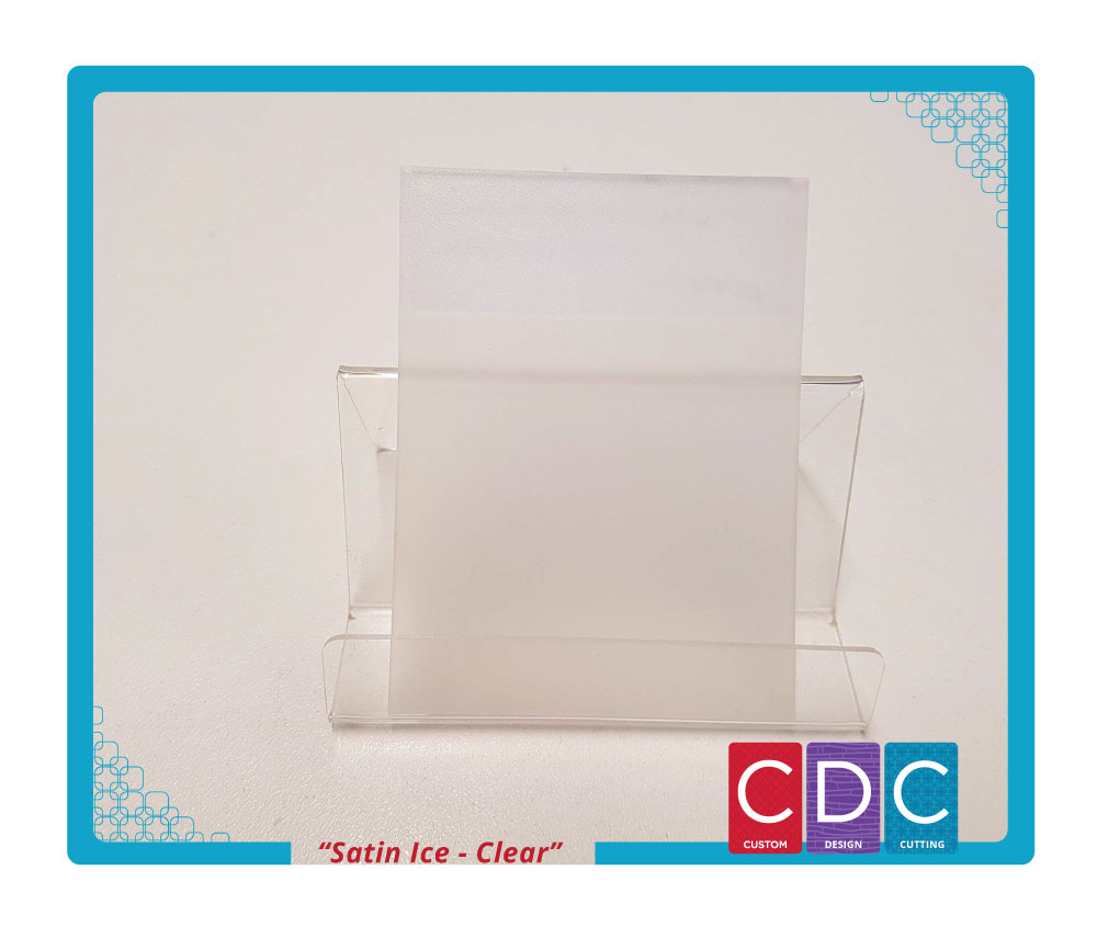 A4 3mm Frosted Satin Finish Acrylic Sheet Cdc Laser Perth